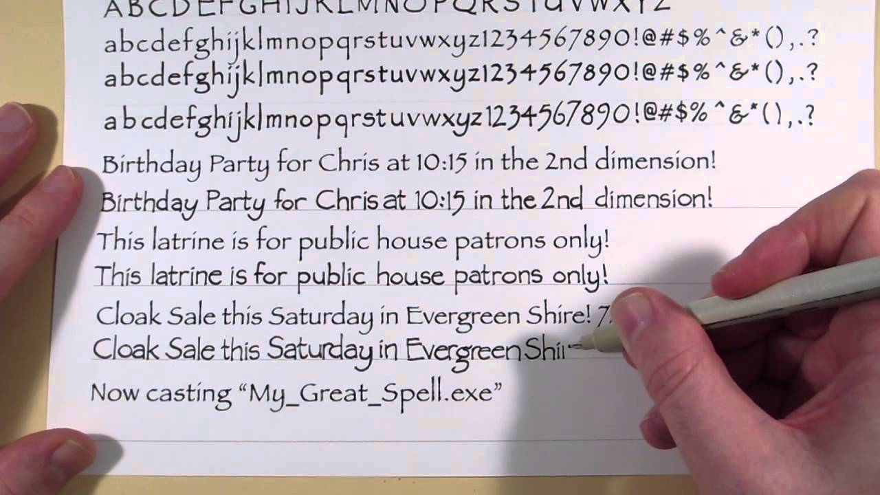 A screenshot from Jesse England's video