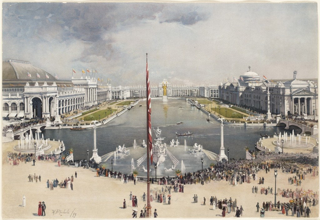 1833 World's Fair site illustration