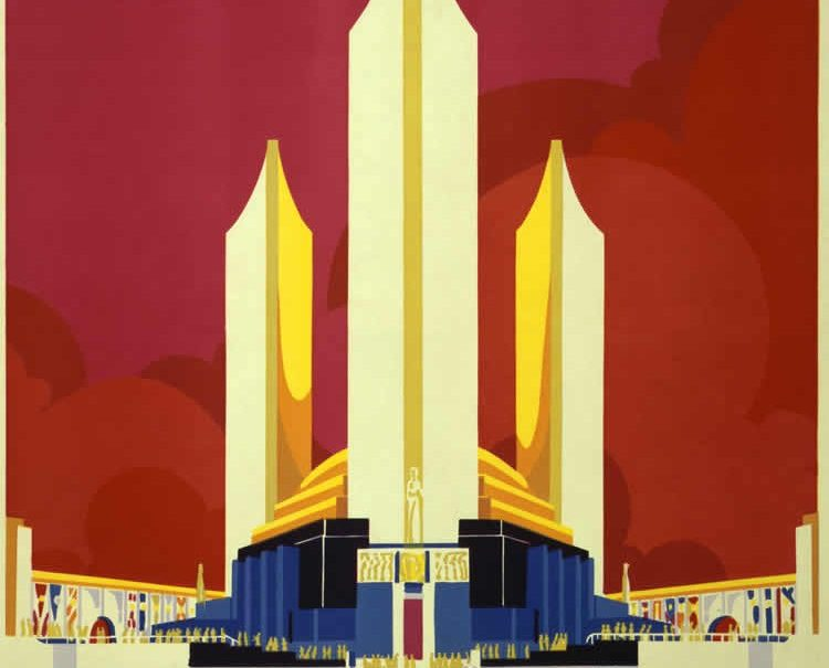 A poster for the World's Fair